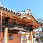 高崎市倉賀野町のお寺にて、基礎工事をしました。
