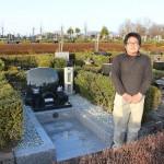 高崎市営八幡霊園にてお墓が完成しました。
