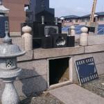 今日は、午前中納骨作業を北群馬郡吉岡町で、午後は追加戒名彫りの打ち合わせに高崎市石原まで行ってきました。