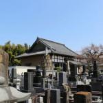 群馬県藤岡市西平井の常光寺様にてお客様とお墓の解体、処分の打ち合わせをさせていただきました。
