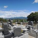 お客様によしおか墓苑をご案内しました。