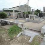 前橋市小屋原町のお客様から、お墓のリフォームのお見積り依頼です。