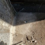前橋市駒形町にて、お墓の改修工事です。