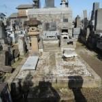 2017年最初の仕事は、高崎市の延命寺様にてお墓のリフォーム工事です。