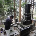 今日は、高崎市倉渕町の東善寺様にて、お墓じまい(解体)工事です。