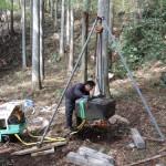 今日は、小栗上野介様のお墓があります高崎市倉渕町の、東善寺様でお墓じまい工事です。