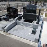 今日は、高崎市営八幡霊園の9種にて納骨作業です。