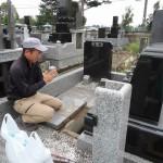 今日は、群馬県太田市高林西町にて、お墓の解体工事です。