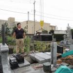 今日は、群馬県太田市で墓石解体工事です。