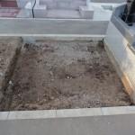 高崎市営八幡霊園の63区にて、おしゃれな洋型墓石が完成しました。