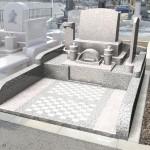 高崎市の八幡霊園61区画にて、お施主様が文字彫刻をできる体験型のお墓が完成しました。