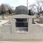 群馬県高崎市のお寺にて擁壁工事をしています。