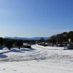 お見積り依頼の為、高崎市営八幡霊園に行ってきました。