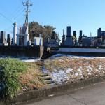 先日、お見積りの為、お客様に藤岡市の墓地を見させていただきました。