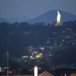 今日はお墓のお見積りをお届けに、群馬県藤岡市まで行き、その後、高崎市の観音様を撮影しました。