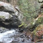 桐生の自然を満喫してきました、巨大な石に感動。