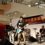 今日は高崎市イオンでまちなか音楽祭がありました。