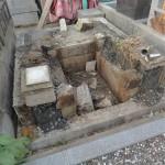墓じまい、解体作業中の動画はこちらです。群馬県藤岡市にて。