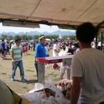 地元、高崎市旧群馬町の祭りに参加しました。
