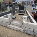 太田市にて墓じまい工事が終わりました。