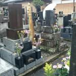 高崎市倉賀野町のお寺様にて、お墓を建てさせていただきました。