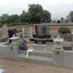 前橋市にてお墓のリフォーム貼石工事のご依頼で現地調査に行きました。