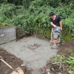 高崎市にて新規墓石のご契約をいただき、基礎工事をしています。