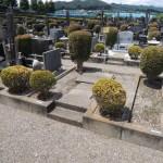高崎市営八幡霊園の、第5種 規格 洋式 のお見積り依頼です。