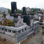 藤岡市の常光寺様にて、お墓じまいの工事です。