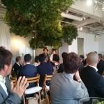 今日は都内で、商工会仲間の結婚式でした。