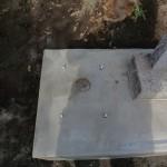 高崎市宮沢町にて、2尺氏神様と石碑設置工事です。