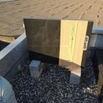 高崎市西国分寺町にて、お墓の過去碑、墓誌に追加戒名彫りです。