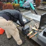高崎市営八幡霊園の返還墓地にて、新しいお墓が完成いたしました。