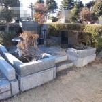 今日は、前橋市の亀泉霊園にて、お墓じまいのお見積りです。