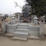 今日は高崎市我峰町にて、お墓のリフォーム工事のお見積り依頼です。