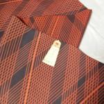 今日は桐生市で、着物生地でネクタイを作ってもらいました。