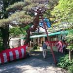 今日は、高崎市倉賀野町の東善寺様にて小栗祭りのボランティアです。