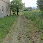 今日は、群馬県北群馬郡吉岡町の、よしおか墓苑で納骨と草むしりです。