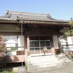今日は、高崎市九蔵町の法華寺様に新規墓石工事開始のご挨拶にお伺いしました。