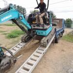 今日は、群馬県太田市にて、お墓の解体.撤去工事です。