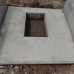 今日は、群馬県沼田市屋形原町の実相院様にて、お墓の工事です。