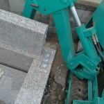 今日は群馬県伊勢崎市にあります、田尻霊園にてお墓の工事です。