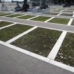 今日は、高崎市八幡霊園の61区の9種にて、お墓の基礎工事です。
