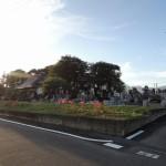 今日は、お墓のリフォーム工事のお問い合わせで、高崎市の西光寺様に来ています。