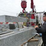 群馬県高崎市矢中町にて、新しいお墓が完成しました。