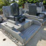北群馬郡吉岡町漆原のよしおか墓苑にて、和洋型のお墓が完成しましたのでご紹介いたします。